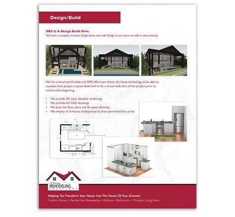 design remodeling solutions sales brochure tweed marketing