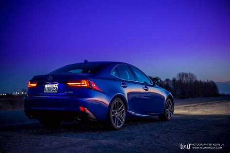 lexus blue ultrasonic blue lexus is f sport at dusk for your desktop