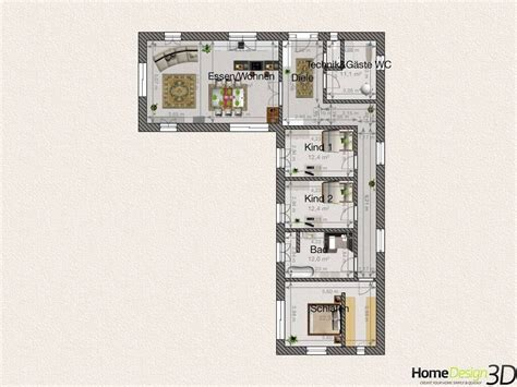 Grundriss L Form by Grundriss Bungalow Deeviz For Bungalow L Form Luxus