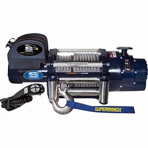 Superwinch 12 Volt Dc Powered Electric Truck Winch With