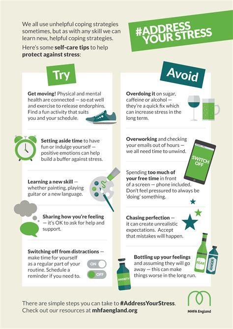address  stress  mental health awareness week