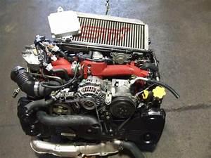 Jdm Subaru Wrx Sti Ej20 Turbo Engine Intercooler Wiring