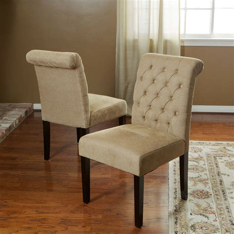 set   roll  tufted dining chairs chairs  button