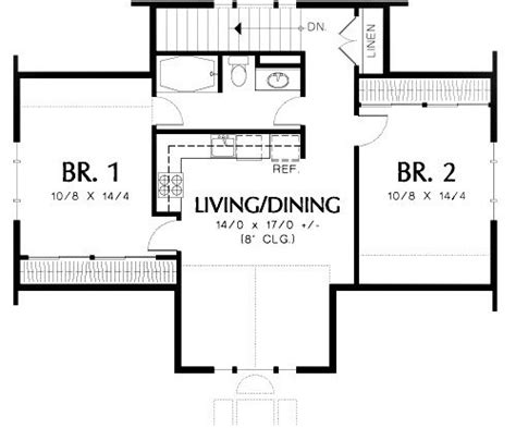 Unique Guest House Floor Plans 2 Bedroom  New Home Plans