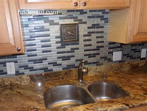 Metal Tiles   Decorative Metal Backsplash Accent Tile Inserts