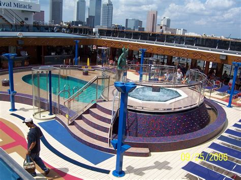 panoramio photo of carnival miracle lido deck