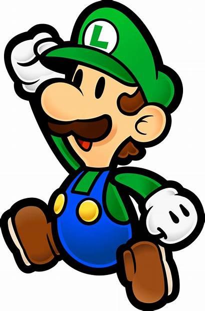 Luigi Paper Wikia Battle Death