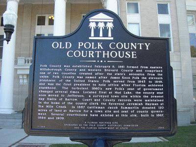 polk county florida treasure chest history