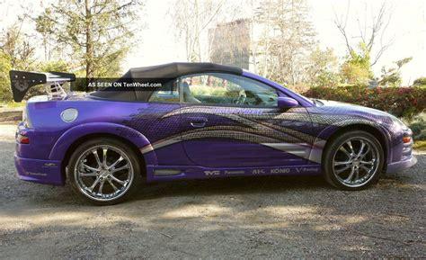 Mitsubishi Eclipse Spyder Kits by 2003 Mitsubishi Eclipse Spyder Gts Fast Furious