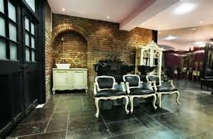 salons salon design and bricks on pinterest