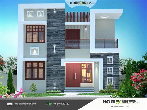 exterior house designs  india  budget modern house