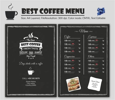 Are you searching for coffee menu png images or vector? Cafe Menu Template - 40+ Free Word, PDF, PSD, EPS, InDesign Format Download! | Free & Premium ...