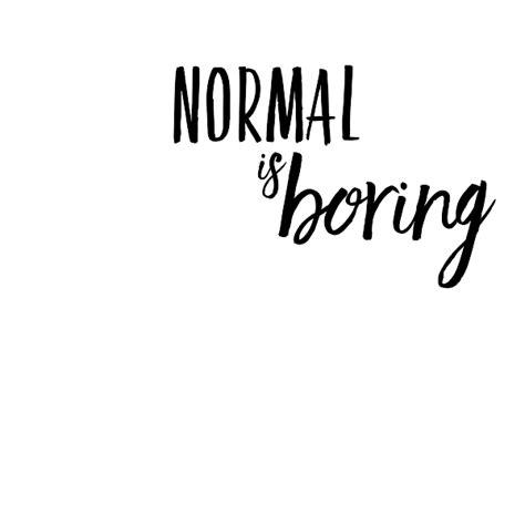 normal  boring wall quote decal
