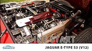 Jaguar E Type Series 3 V12 - Engine Start