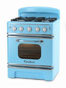 Blue retro stove stock illustration. Illustration of chill ...