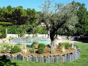 amenagement exterieur greasque mediterraneen jardin With amenagement jardin exterieur mediterraneen