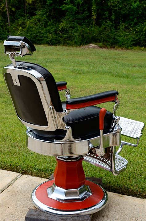 project antique barber chairs   custom barber