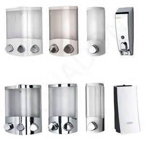 Wall Mounted Soap Dishes For Bathrooms by Soap Dispensers Chrome White Bathroom Cloakroom Shower