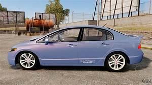 Honda Civic 2008 : honda civic si 2008 for gta 4 ~ Medecine-chirurgie-esthetiques.com Avis de Voitures