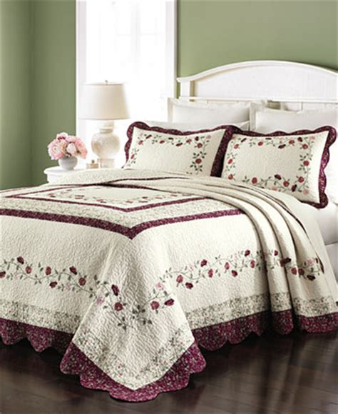 Macys Coverlets by Martha Stewart Collection Prairie House Bedspreads