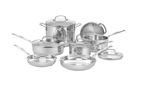 cookware cuisinart sets affordable stainless steel amazon order right styles