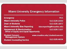 Employee Institutional Response Team Miami University