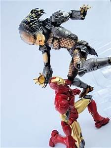 Revoltech: Predator Vs Iron Man Mark VI Images | GUNJAP