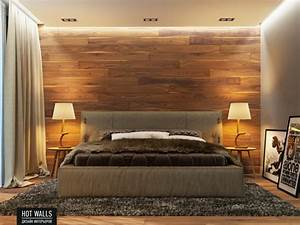 Schlafzimmer Ideen Wand : wohnideen led einrichtungsbeispiele schlafzimmer ideen wand holz indirekte beleuchtung ebenfalls ~ Frokenaadalensverden.com Haus und Dekorationen