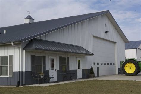 farm shop with living quarters floor plans 3747 morton building with 2br 1 ba living quarters
