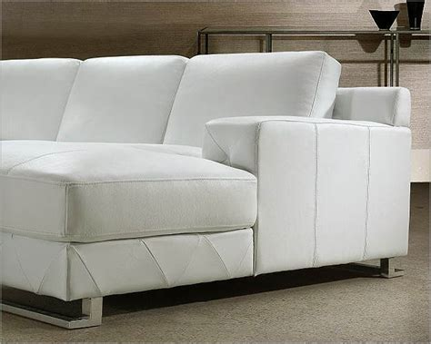 White Sofa Sets by White Leather Sectional Sofa Set 44l0680