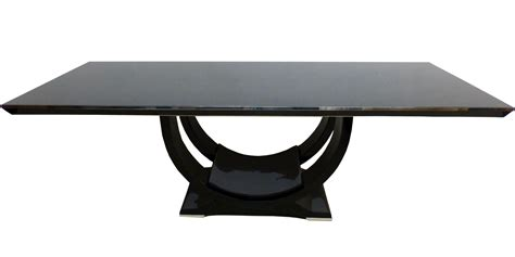 deco tisch deco tisch in gro 223 er und schwerer ausf 252 hrung perfekter zustand in schwarz hochglanz