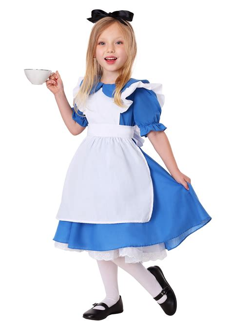 Toddler Girls Alice Costume Deluxe | Exclusive | Made By Us