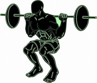 Weight Clipart Weightlifting Powerlifting Lifting Silhouette Lifter