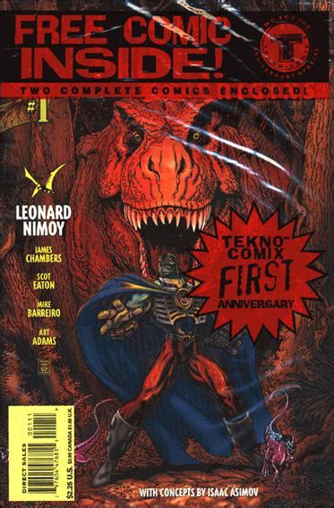 leonard nimoy comic book leonard nimoy s primortals origins comic book by tekno