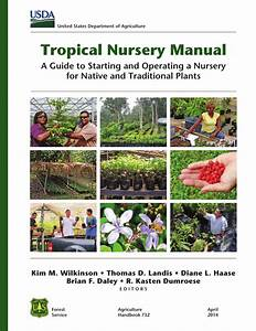 Pdf  Tropical Nursery Manual  A Guide To Starting And