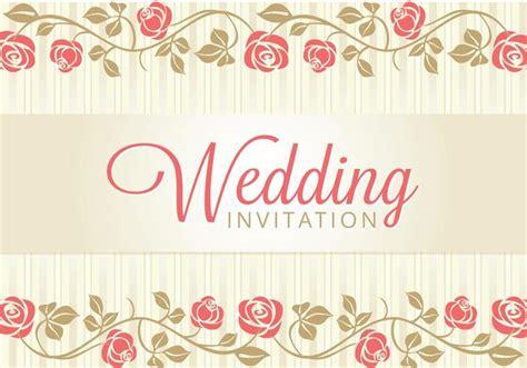 Wedding Card Invitation Download Free Vector Art Stock
