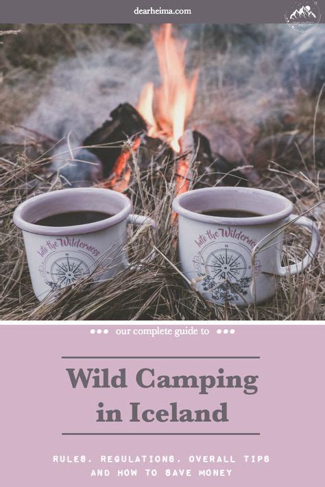 Camping in iceland is a wonderful experience and adventure no matter what time of year you choose to partake. Wild Camping Guide to Iceland   Iceland camping, Camping cards, Fall camping