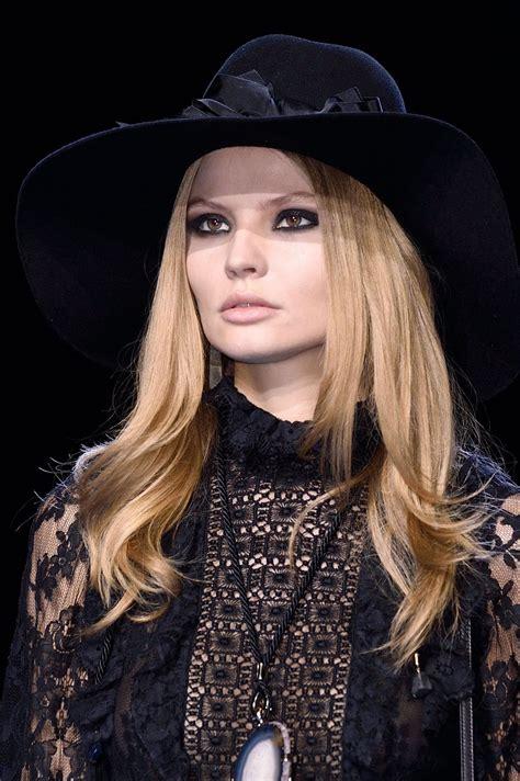 MAGDALENA FRACKOWIAK at Elie Saab Fashion Show in Paris 03 ...