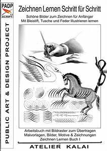 Zeichnungen Mit Bleistift Für Anfänger : padp script 11 zeichnen lernen schritt f r schritt sch ne bilder zum buch ~ Frokenaadalensverden.com Haus und Dekorationen
