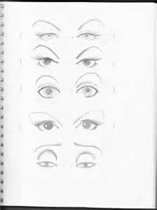 Drawing Different Eye Shapes