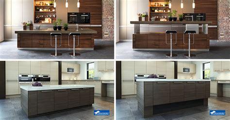kitchen island height kitchen design idea adjustable height kitchen island