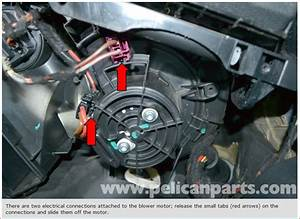 I Am Trying To Replace The Blower Motor On My 2010 Glk 350