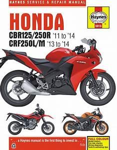 Honda Cbr125r  Cbr250r  U0026 Crf250l  M Repair Manual  2011
