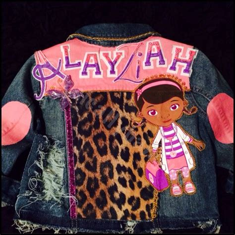 kids custom denim vest  jacket full frontback  storenvy