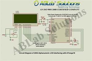 20x4 Alphanumeric Lcd Interfacing With Avr Atmega16