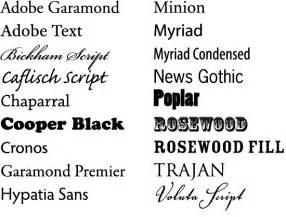 schriftarten design web fonts