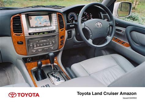 Land Cruiser Interior by Land Cruiser Interior 2003 2005 Toyota Uk