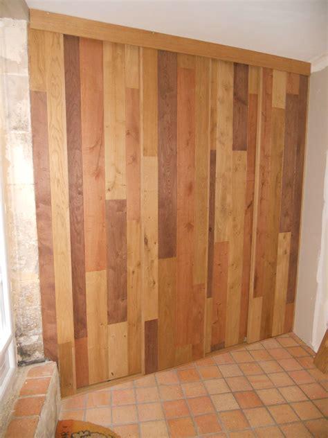 fabriquer un ilot central pour cuisine meuble d entrée avec portes coulissantes en bardage
