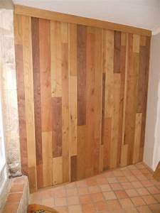 Fabriquer Sa Porte Coulissante Sur Mesure : meuble d entr e avec portes coulissantes en bardage ~ Premium-room.com Idées de Décoration