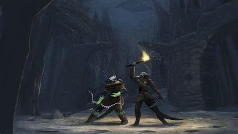 furry anthro fantasy art  elder scrolls  skyrim